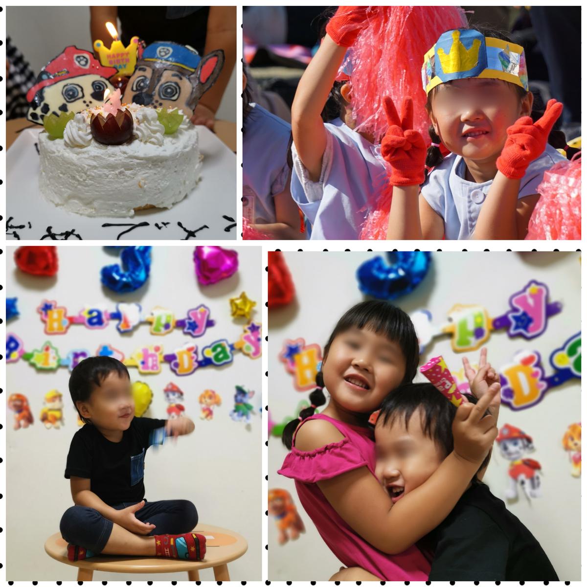 年長運動会と3歳誕生日