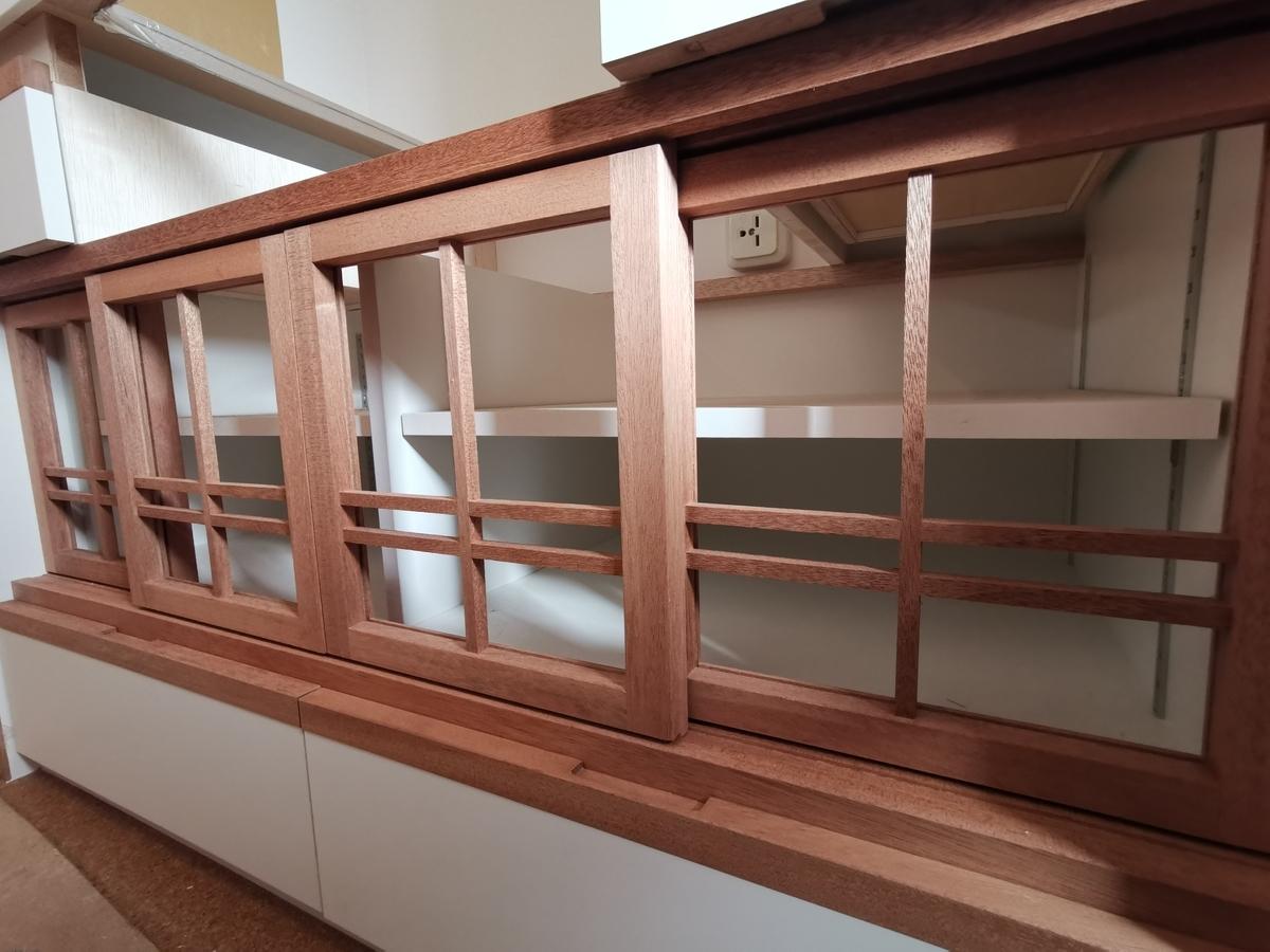 建具屋による造作キッチン収納