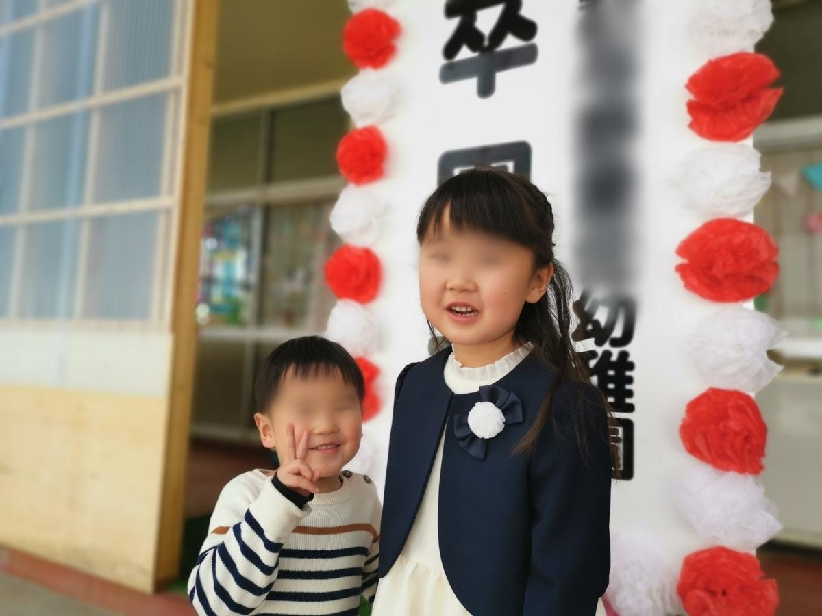 幼稚園 卒園式