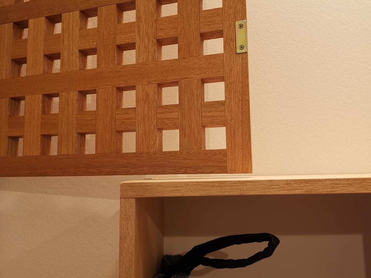 ラワンの家具 建具