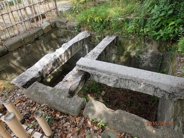 岡山城の穴蔵