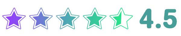 イオンシネマの星評価4.5