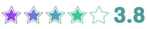 無印良品の星評価3.82