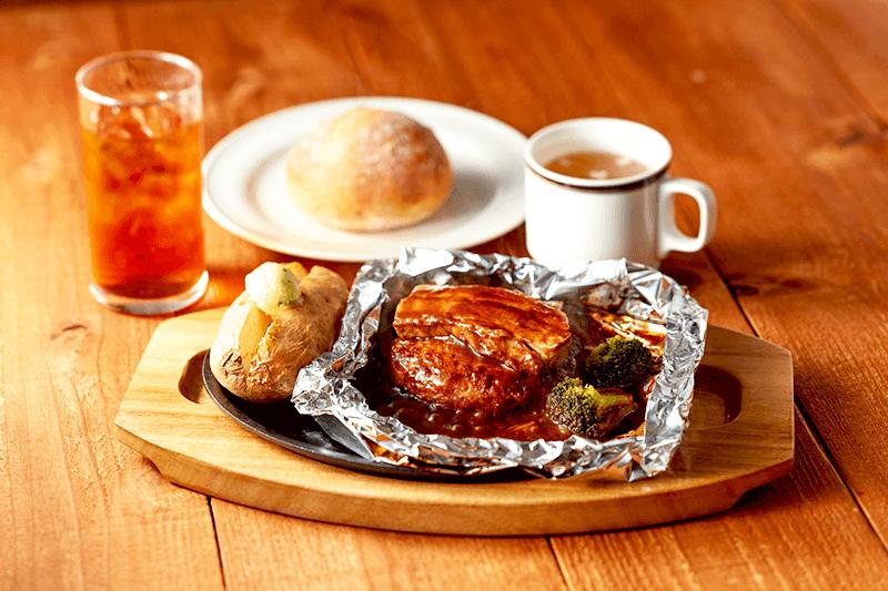 ココスの包み焼き豚バラハンバーグの画像