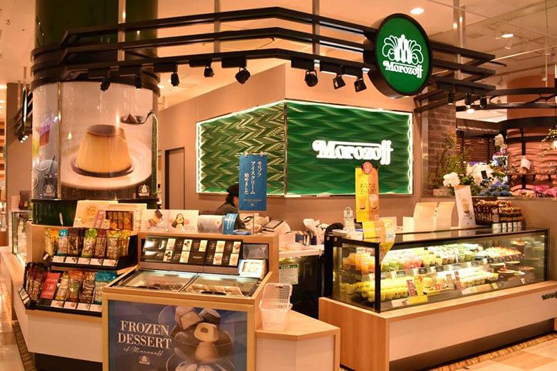 モロゾフの販売店舗の画像