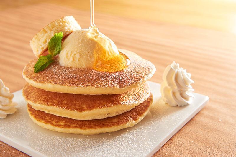 コート・ダジュールの人気メニュー、パンケーキの画像