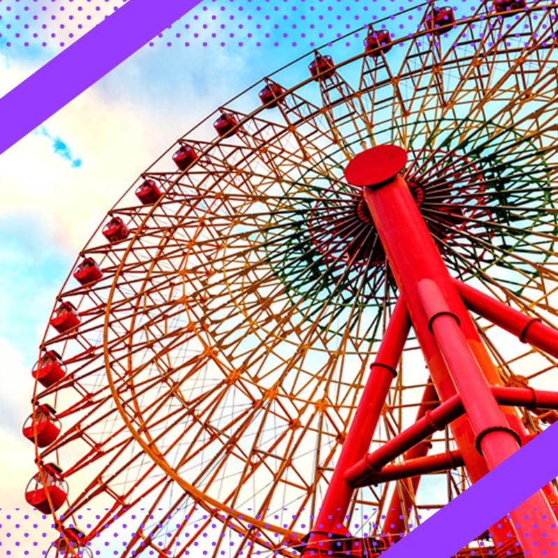 東京ドームシティをイメージする画像