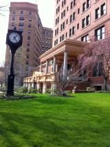 シェンリー・ホテル バルコニーのある出入口