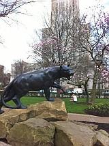 シェンリー・パーク 動物の像