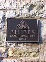 フィップス温室 表札