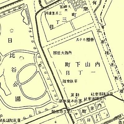 1903年の地図