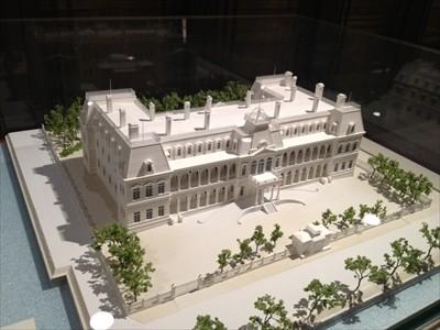 初代帝国ホテル(模型)