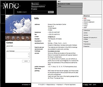 MDC | About us > Info