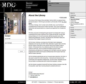 MDC | Library > About the library