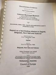 欧州評議会による戦争被害の調査報告書