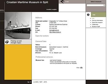 スプリットの海事博物館