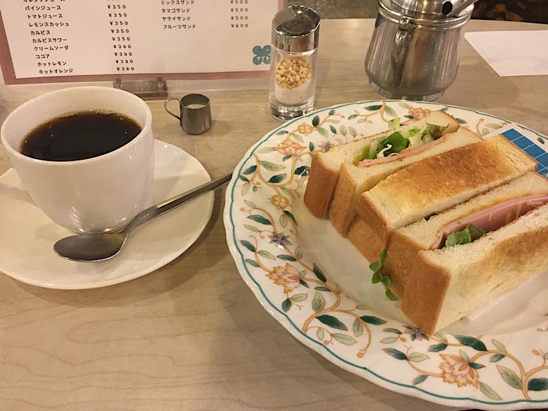 梅田 純喫茶 マヅラ