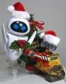 クリスマスイヴちゃんとWALL-E