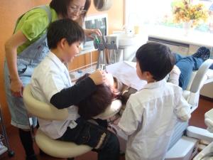 歯医者さん体験教室