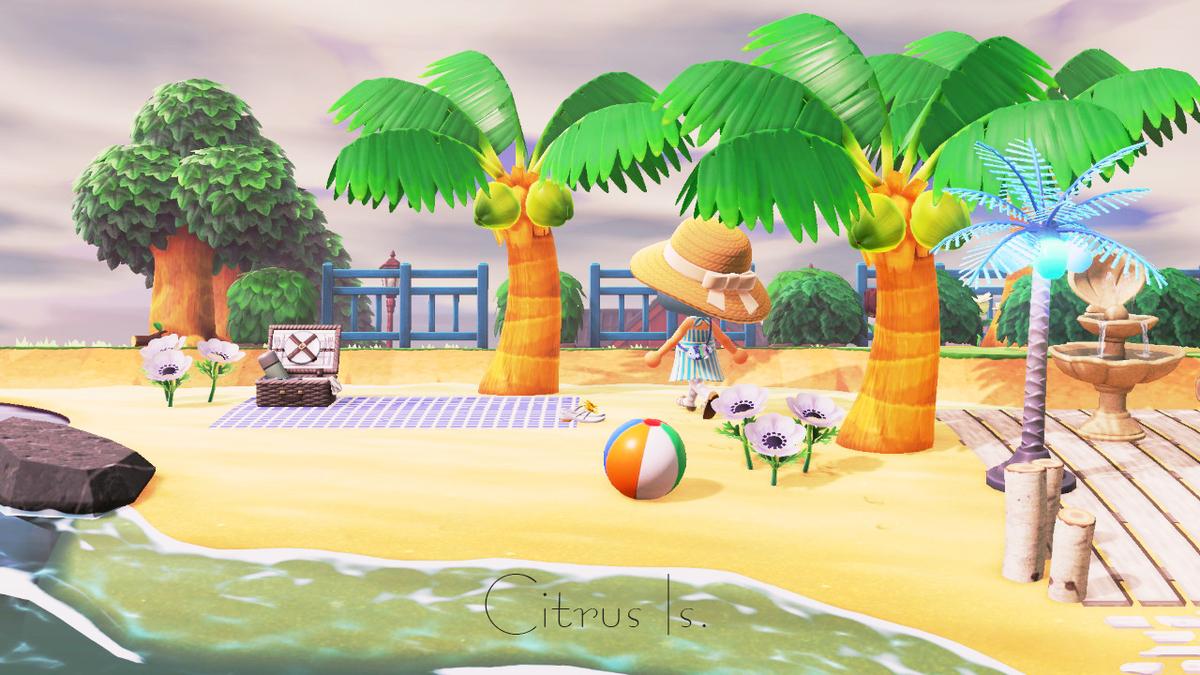 ビーチ あつ 森 【あつ森】砂浜・海岸・浜辺・ビーチのマイデザインとID紹介【あつまれどうぶつの森】