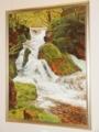 銀山の滝 F80 油彩 示現会展