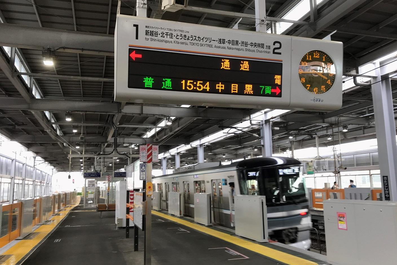 北越谷駅トップ(R207以降)