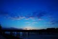 京都新聞写真コンテスト 渡月橋BLUE