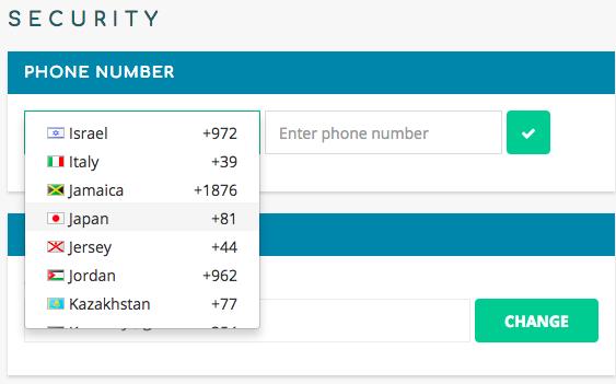COSS電話番号認証SMS