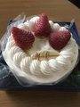 よっしーとケーキ(2018.12.24)