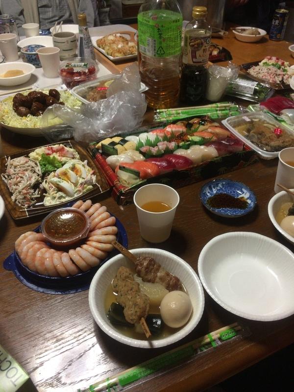 夜ご飯(2018.12.31)