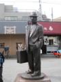 [柴又][葛飾]寅さんの銅像@柴又駅前