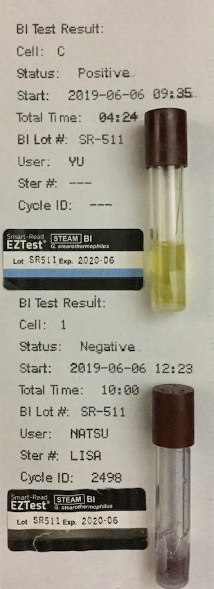 生物学的インジケータ BI