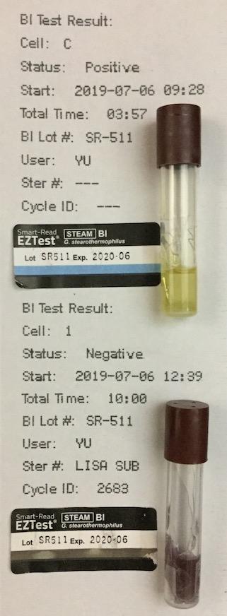 バイオロジカルインジケータ BI