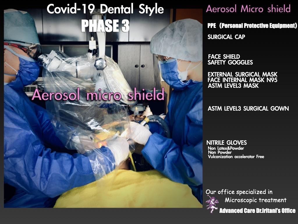 Aerosol micro shield