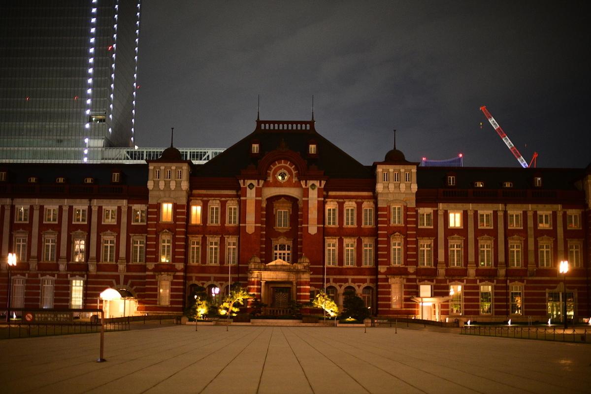 緊急事態宣言 COVID-19 東京駅前丸の内口