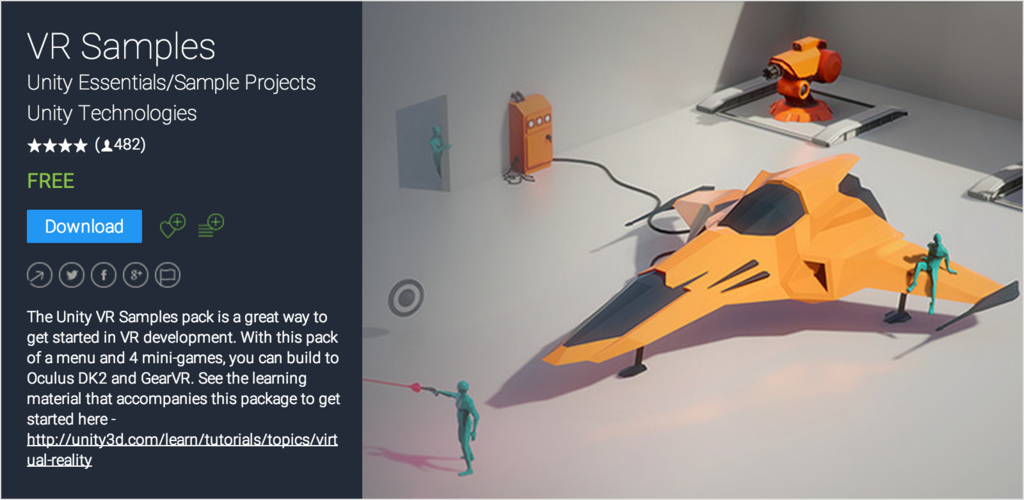 Oculus GoでUnity VRサンプルを動かしてみた - 趣味TECHオンライン