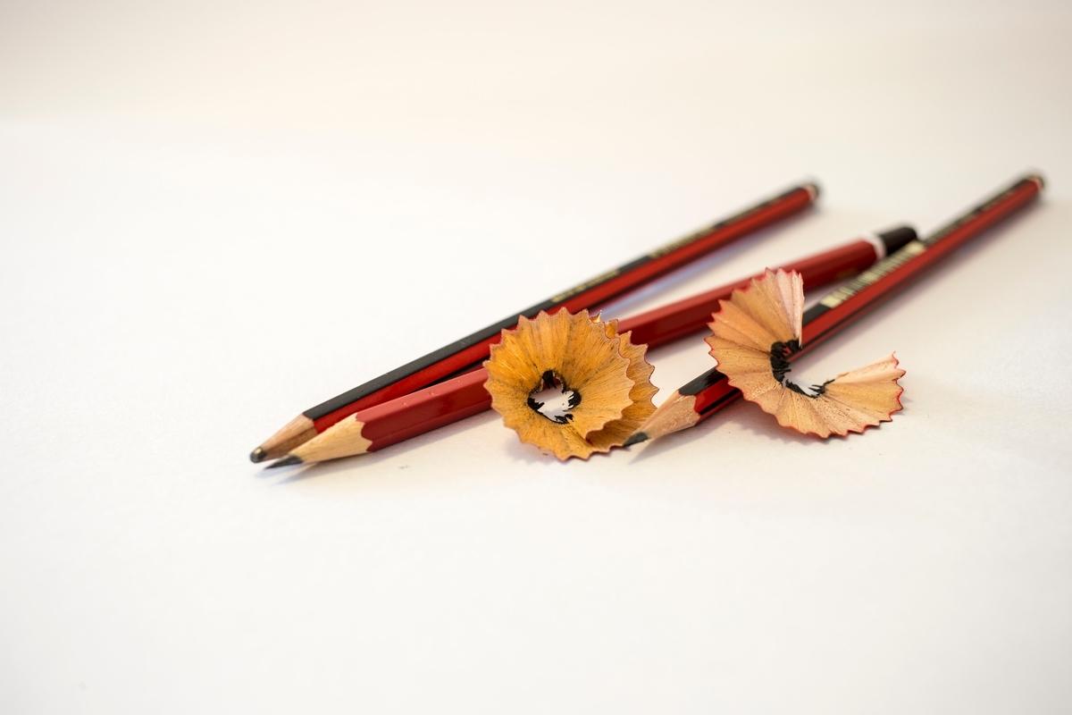 3本の鉛筆