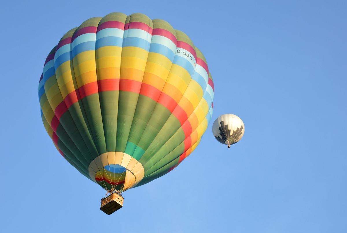 大きな気球
