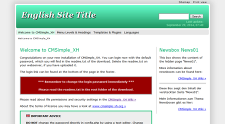 English_Site_Title_–_Welcome_to_CMSimple_XH_-_2014-11-10_17.56.37