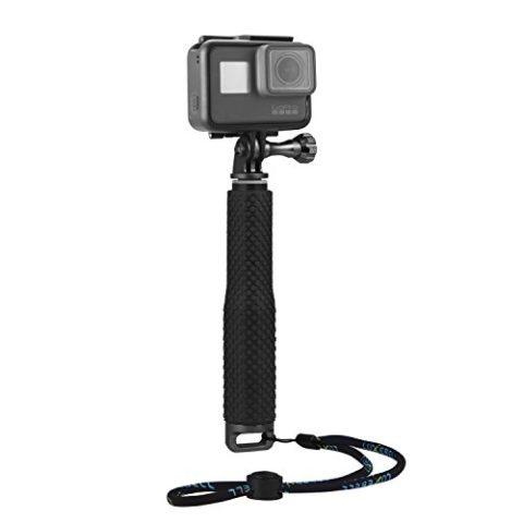 Luxebell®Gopro用自撮り棒 伸縮拡張一脚ポール セルカ棒 GoPro Hero1 2 3 3 4 SJ4000 SJ5000 対応(ブラック)