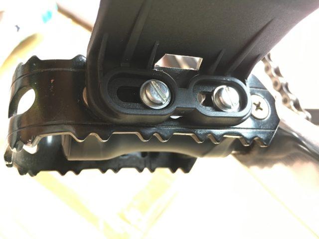 【ESCAPE R3】クロスバイクにハーフトゥクリップを装着してみた ...