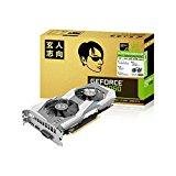 玄人志向 ビデオカード GEFORCE GTX 1060搭載 GF-GTX1060-E6GB/OC2/DF