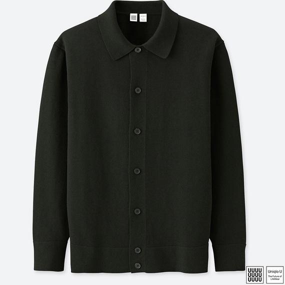 ユニクロU トップス コットンカシミヤカーディガン(長袖)+E