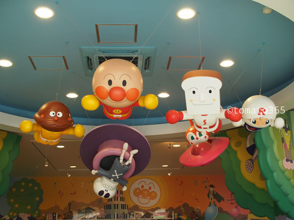 名古屋アンパンマンこどもミュージアム パークで娘の誕生日お祝いを