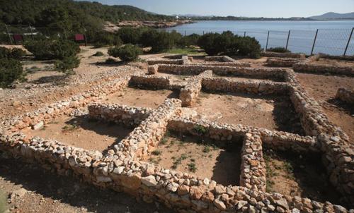 サ・カレタの居住跡世界遺産