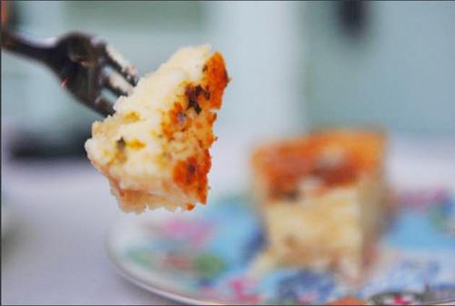 イビサ島の伝統チーズケーキ