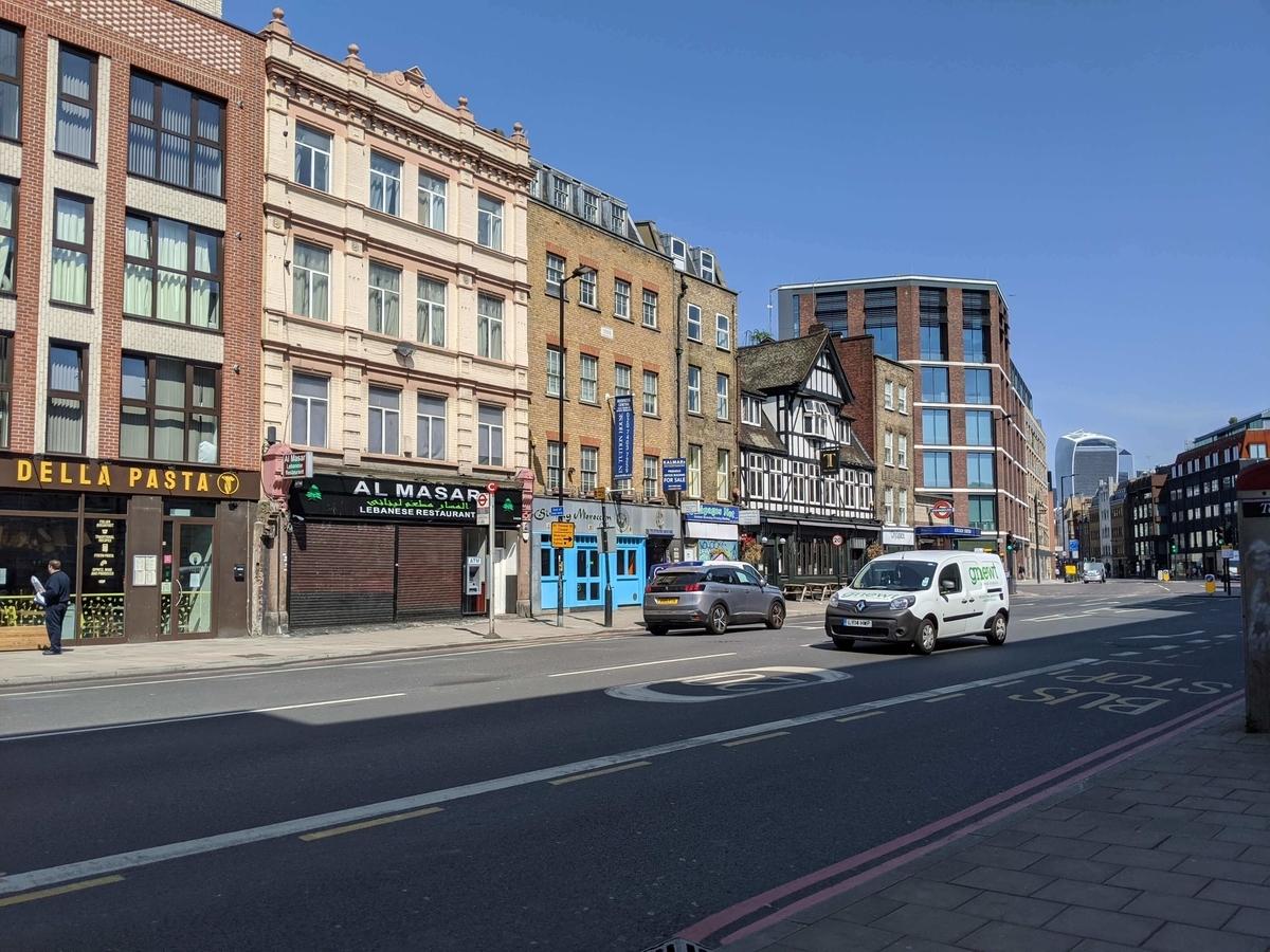 ロンドンコロナのイメージ