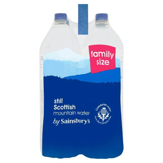 Sainsbury'sミネラルウォーターのイメージ