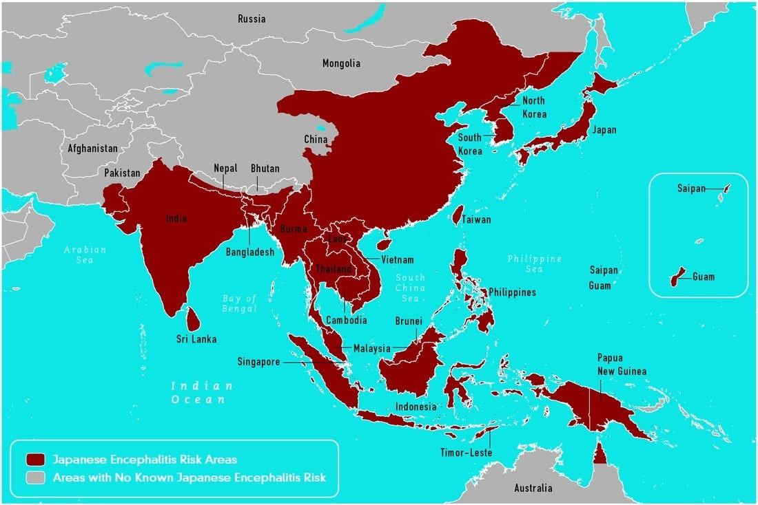 日本脳炎マップ