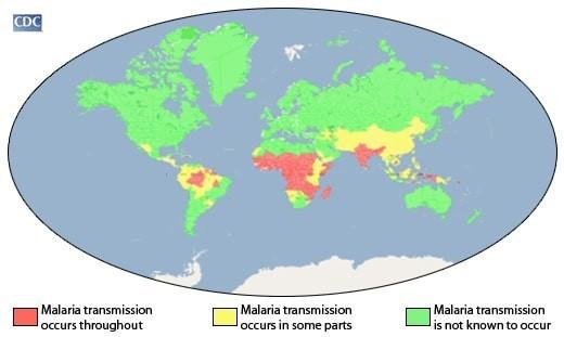 マラリアマップ